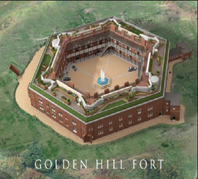 Photograph of Golden Hill Fort